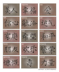 DOWNLOADABLE CHINESE CHARACTERS ... popular Chinese phrases in AI, EPS, GSD, & SVG file formats @ My Vinyl Designer (http://www.myvinyldesigner.com/Products/chinese-characters.aspx)