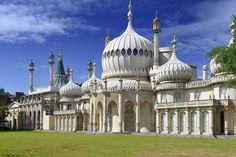 Royal Pavilion Brighton. Originally a modest lodging house for Prince Regent (George IV), the building was transformed into the Marine Pavilion in 1787 by Henry Holland. In 1815, the famous regency architect John Nash began transforming the Pavilion into the oriental style Royal Pavilion we know today.