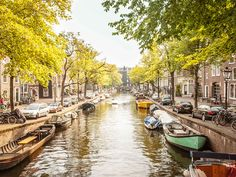 Amsterdam's river canals