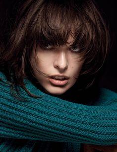Milla Jovovich by Inez & Vinoodh for Marella Fall 2013 Campaign