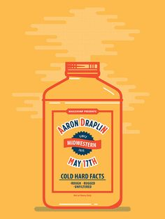 Justin Pervorse: Aaron Draplin Poster Draplin Design, Visual Diary, Music Posters, Logo Inspiration, Farm House, Typography Design, Identity, Ss, Branding