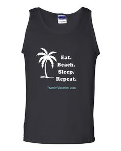 Funny Baby T-Shirt Toddler Tee Islands Beach Vacation I Love Heart