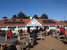Wells Beach Cafe on a sunny February Sunday !