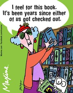 Maxine on being checked out