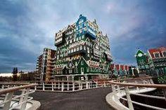 A unique building in Amsterdam