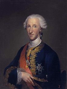 Infante Luis, Count of Chinchón (1727 - 1785). Son of Philip V and Elisabeth of Farnese.