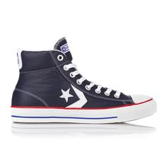 Converse Star Player Ev Mid Leather Navy