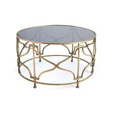 uttermost quatrefoil coffee table - 25015 | quatrefoil and coffee