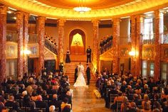Wedding in the Grand Foyer Apparently you can rent Severance Hall! You have to have Sammy's cater it though.