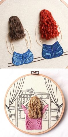 Etsy Shop Feature on So Super Awesome . Etsy Shop Feature on So Super Awesome # Embroidery hoop Etsy Embroidery, Hand Embroidery Videos, Floral Embroidery Patterns, Embroidery Stitches Tutorial, Creative Embroidery, Hand Embroidery Stitches, Modern Embroidery, Embroidery Hoop Art, Hand Embroidery Designs