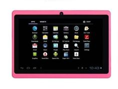 7 Android 40 ICS Capacitive Screen Camera Wifi Tablet Pc New 4gb Pink >>> Be sure to check out this awesome product.