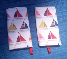 Preppy Sailboat Drool Pads/Chew Pads/Suck by BabyBeeNYC on Etsy, $14.00