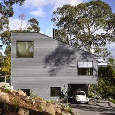 Lorne Hill House is a retirement residence  built among trees on Australia's coastline