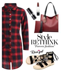 """ROSEGAL"" by helenevlacho ❤ liked on Polyvore featuring rosegal"