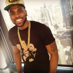 """You'll love Jason Derulo's new single """"The Other Side"""" even more when you hear the cute story behind it (here's a pic of him hanging out at Cosmo HQ!)"""