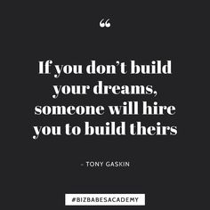 Your dreams are important! And remember youre the only one who can give them a chance to come true. Stop putting things off until tomorrow! Get on the Biz Babes Academy waitlist today. (Link in bio!)