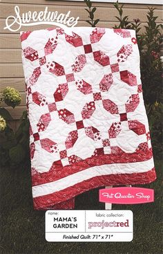Mama's Garden Quilt Pattern<BR>Sweetwater