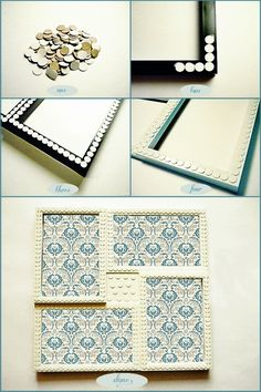 DOTTED PICTURE FRAME