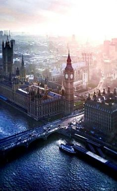 Westminster Abby & Big Ben ~