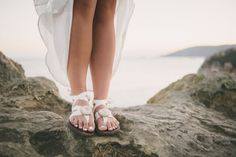 Bridal sandals from Sseko Designs