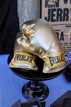 Boxing party ideas - also great for fight night, via LAURA'S little PARTY
