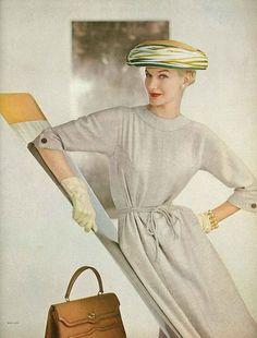 Sunny Harnett in Vogue 1956