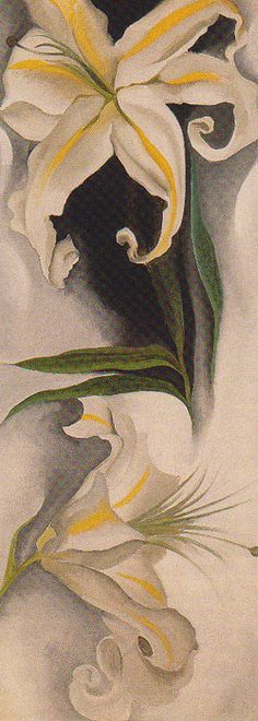 Georgia O'Keeffe, White Flowers, 1926