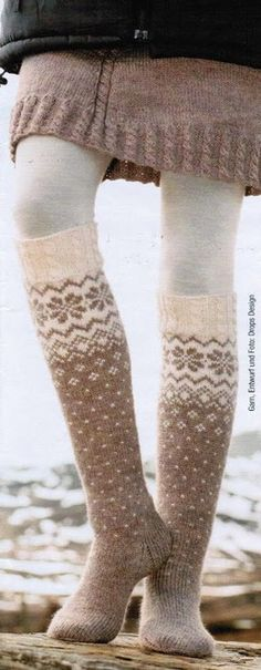 Socks & Slippers - Free knitting patterns and crochet patterns by DROPS Design Drops Design, Crochet Socks, Knitting Socks, Knit Crochet, Knitted Boot Cuffs, Knitting Patterns Free, Free Knitting, Free Pattern, Knitting