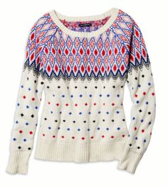 Fair Isle Sweater American Eagle