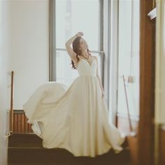 fabulous vancouver wedding Our #gastown neighbours, @truvellebridal, have some *gorgeous* wedding gowns. They loaned us this one for the #SS16 catalog photoshoot . #haileygerritsdesigns #lovelocal #madeinvancouver by @haileygerrits  #vancouverwedding #vancouverwedding