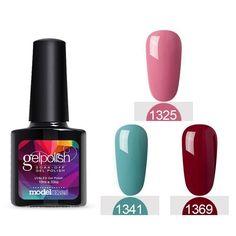 3Pcs Lot Claret Color UV Lamp Nail Gel Polish 10ML Soak Off UV Nail Gel Lacquer Manicure Kit UV Nail Polish