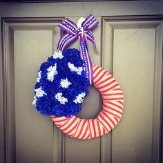 """12"""" Patriotic wreath"""