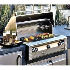 Alfresco Grill Alfresco Grills – Cooking Innovations At Its Best Cooking On The Grill, Outdoor Kitchens, Cool Rooms, Outdoor Entertaining, Grills, Innovation, Backyard, Outdoor Decor, House