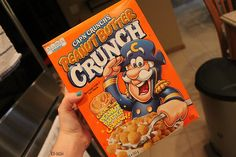 Peanut Butter Cap'n Crunch is my one of my favorite things on earth  ♡