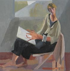 MARY MABBUTT - SELF PORTRAIT 2012 Figure Painting, Blackadder, Mary, Portraits, Paintings, Artists, Female, Painting Art, Artist