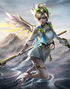 Overwatch Winged Victory Mercy