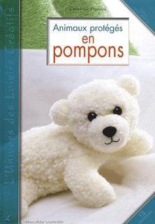 fr animaux rigolos en pompons en cute animal pompoms bricolage enfants loisirscr atifs. Black Bedroom Furniture Sets. Home Design Ideas