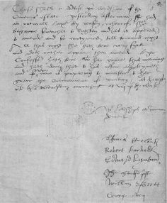 Letter describing Jane Seymour's post-birth illness. EXCERPT: 'all this night she [Jane] hath bene very syck and doth rather appare [worsen] then amend'. The second from the bottom signature, William Butts. Butts was one of Henry VIII's physicians and often dealt with royal and noble patients.
