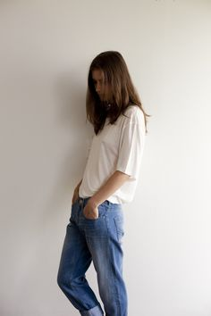 The Kiwis shot by Rene Vaile for Oyster #93. Acne t-shirt from Fabric, Billabong jeans, Stolen Girlfriends Club choker