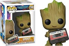 Funko Groot (Marvel Collector Corps Exclusive): Guardians of The Galaxy 2 x POP! Marvel Vinyl Figure & 1 PET Plastic Graphical Protector Bundle [ / 21459 - B] Pop Vinyl Figures, Funko Pop Figures, Baby Groot, Funko Pop Marvel, Funko Pop Dolls, Funk Pop, Disney Pop, Pop Toys, Pop Characters