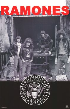 """The Ramones 1978 Concert Poster • 100% Mint unused condition • Well discounted price + we combine shipping • Click on image for awesome view • Poster is 12"""" x 18"""" • Semi-Gloss Finish • Great Music Collectible - superb copy of original • Usually ships within 72 hours or less with > tracking. • Satisfaction guaranteed or your money back. Sportsworldwest.com"""