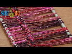 Hairpin Lace Crochet Asymmetrical Basic Braid Tutorial 5 Hairpin Strip