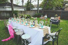 backyard+bridal+shower | Backyard bridal shower fun! Photo by Dana Fernandez Photography