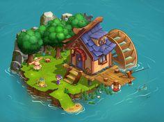 Ознакомьтесь с этим проектом @Behance: «Game location» https://www.behance.net/gallery/58295047/Game-location