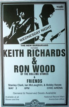 Kieth Richards live with Ron Wood at the Civic Arena by Innerwallz, $15.00