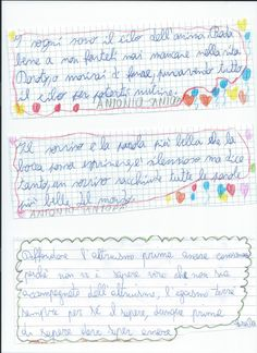 Lavori grafici e letterari sviluppati dai bambini sulla favola Book il libro parlante