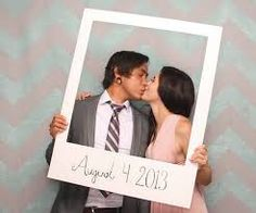 Image result for diy wedding photo booth face cutout