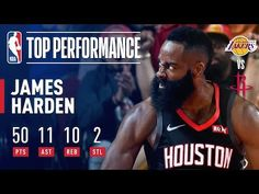1c99b9e6357 James Harden EXPLODES for 50-Point Triple-Double In Win Over Lakers