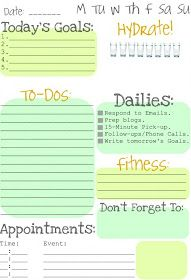 Clean & Scentsible: Making To Do Lists Fun (Fitness Planner Cleanses)