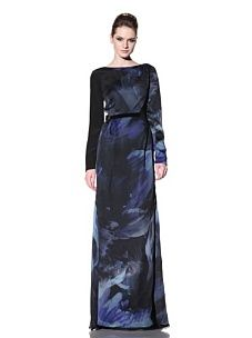 Bibhu Mohapatra - gorgeous print and it has a low back...elegant!